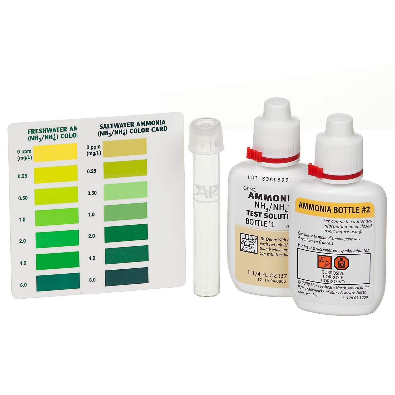 Aquarium ammonia test kit ebay for Ammonia in fish tank