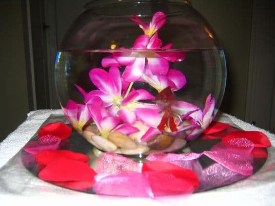 betta wedding centerpieces