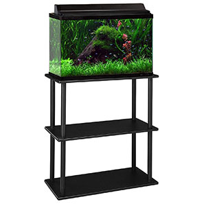 Aquatic-Fundamentals-10-20-Gallon-Aquarium-Stand-with-Shelf